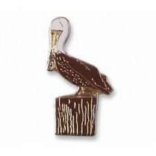 Pelican, Brown pin