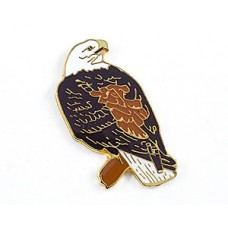 Eagle, Bald (perched) pin