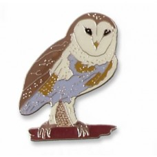 Owl, Barn pin