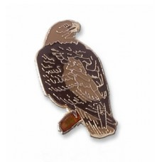 Eagle, Golden (perched) pin
