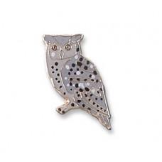 Owl, Eastern Screech pin