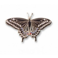 Butterfly, Eastern Black Swallowtail pin