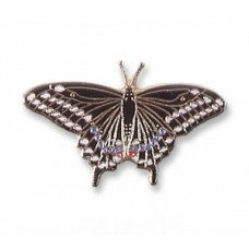 Butterfly, Western Black Swallowtail pin