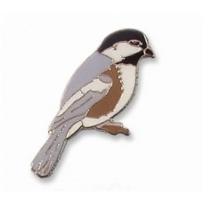 Chickadee, Black-capped pin