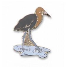 Egret, Reddish pin