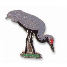 Crane, Sandhill pin