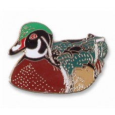 Duck, Wood pin