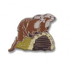 Otter, Northern River pin