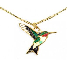 Hummingbird, Ruby-throated pendant