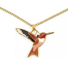 Hummingbird, Rufous Pendant