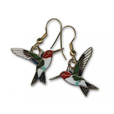 Hummingbird, Anna's earrings